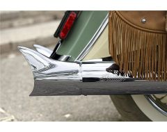 EXHAUST TIPS FISH TAIL CHROME - 2879532-156