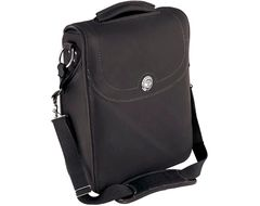 GENUINE LEATHER MESSENGER BAG BLACK - 2879603-01