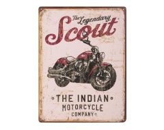 Gameroom - SCOUT MOTORCYCLE SIGN - 2863975