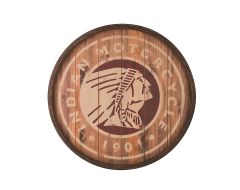 Gameroom - INDIAN ICON BARREL SIGN - 2863990