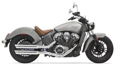 "SLIP ON Bassani 3"" Slip On Muffler with Slash Cut End Cap. Removable Baffle."