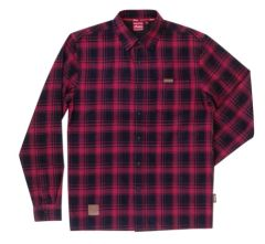 Casualwear - RED BLACK PLAID SHIRT - 2868931
