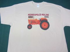 MINNEAPOLIS MOLINE 445 TEE SHIRT