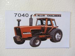 ALLIS CHALMERS 7040 Fridge/toolbox magnet