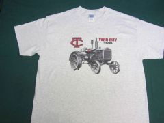 TWIN CITY TRACTORS tee shirt