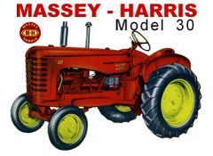 MASSEY HARRIS 30 WF TEE SHIRT