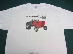 ALLIS CHALMERS 185 CROP HUSTLER TEE SHIRT