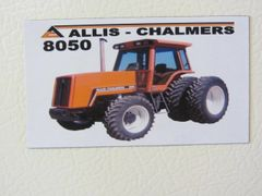 ALLIS CHALMERS 8050 (4x4) Fridge/toolbox magnet