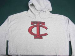 TWIN CITY TRACTOR LOGO HOODED SWEATSHIRT