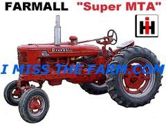 FARMALL SUPER MTA COFFEE MUG