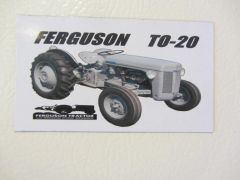 FERGUSON T0-20 Fridge/toolbox magnet