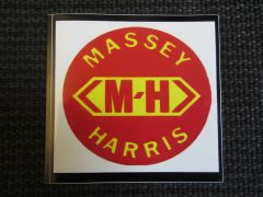 MASSEY HARRIS LOGO Bumper sticker