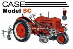 CASE SC with CULTIVATORS TEE SHIRT