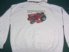 INGERSOLL 4016 HOODED SWEATSHIRT