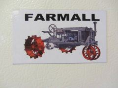 "FARMALL ""THE FARMALL"" Fridge/toolbox magnet"