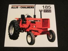 ALLIS CHALMERS 185 Bumper sticker