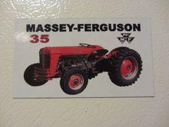 MASSEY FERGUSON 35 Fridge/toolbox magnet
