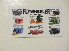 FLYWHEELER Fridge/toolbox magnet