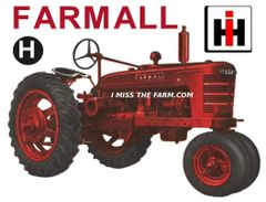 FARMALL H HOODED SWEATSHIRT