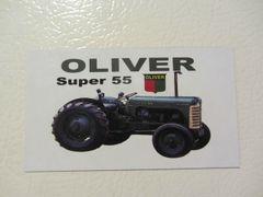 OLIVER SUPER 55 Fridge/toolbox magnet