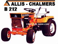ALLIS CHALMERS B212 TEE SHIRT