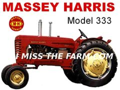 MASSEY HARRIS 333 TEE SHIRT