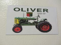 OLIVER SUPER 44 Fridge/toolbox magnet