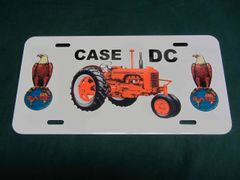 CASE DC LICENSE PLATE