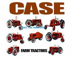 CASE FARM TRACTORS (image #3) TEE SHIRT