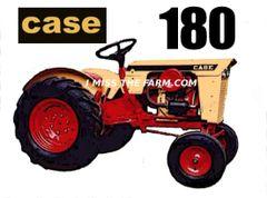 CASE 180 TEE SHIRT