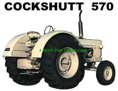 COCKSHUTT 570 TEE SHIRT