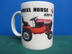 WHEEL HORSE 520-H COFFEE MUG