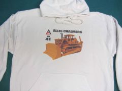 ALLIS CHALMERS HD41 HOODED SWEATSHIRT