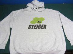 STEIGER LOGO HOODED SWEATSHIRT