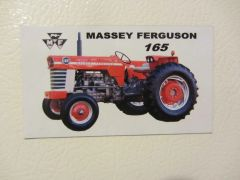 MASSEY FERGUSON 165 (IMAGE #2) Fridge/toolbox magnet