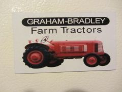 GRAHAM BRADLEY WF Fridge/toolbox magnet