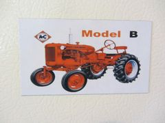 ALLIS CHALMERS B Fridge/toolbox magnet