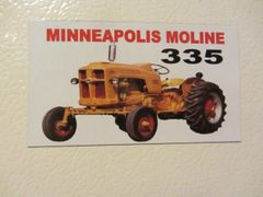MINNEAPOLIS MOLINE 335 Fridge/toolbox magnet