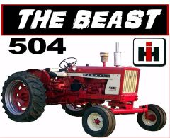 "FARMALL 504 ""THE BEAST"" TEE SHIRT"