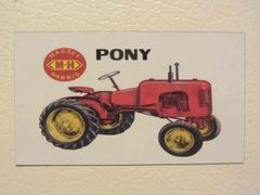 MASSEY HARRIS PONY Fridge/toolbox magnet