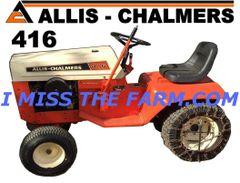 ALLIS CHALMERS 416 TEE SHIRT