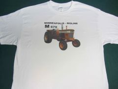 MINNEAPOLIS MOLINE M670 LP Tractor tee shirt