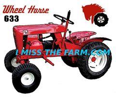 WHEEL HORSE 633 TEE SHIRT