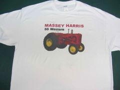 MASSEY HARRIS 55 WESTERN TEE SHIRT