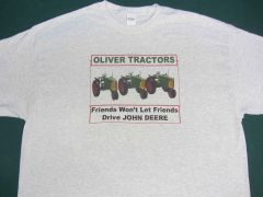"OLIVER RC SERIES ""FRIENDS WON'T LET FRIENDS DRIVE JD"" TEE SHIRT"