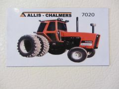 ALLIS CHALMERS 7020 Fridge/toolbox magnet