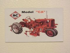 ALLIS CHALMERS CA Fridge/toolbox magnet