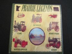 PRAIRIE LEGENDS Bumper sticker