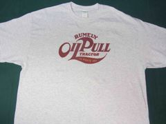 RUMELY TRACTORS OIL PULL LOGO TEE SHIRT