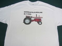 MINNEAPOLIS MOLINE G 1350 TEE SHIRT
